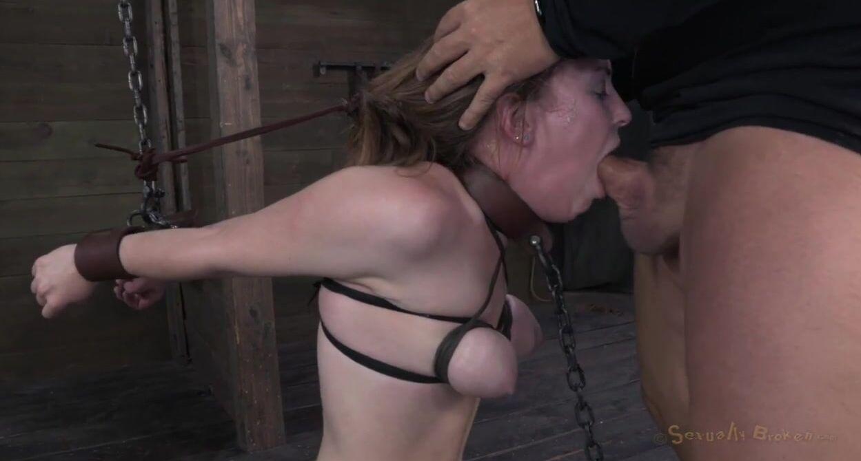 Порно Связанная В Рот